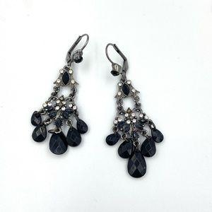 Macy's Dangle Rhinestone Earrings *New*